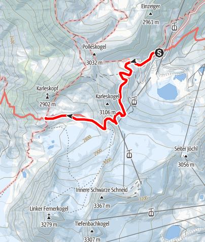 Karte / Braunschweiger Hütte