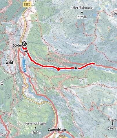 Karte / Lochlealm