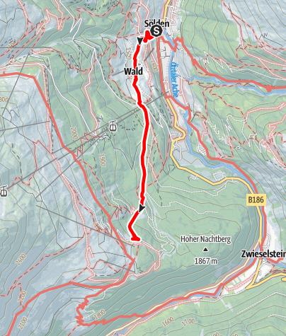 Map / Löple Alm