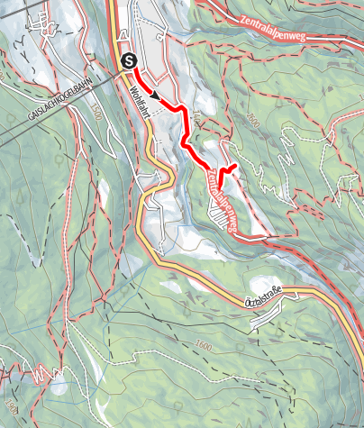 Map / Moosalm - Sölden