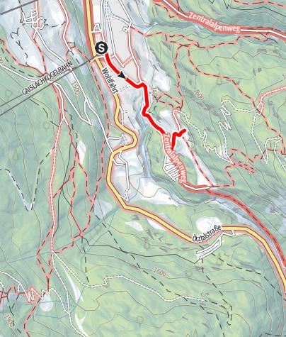 Karte / Moosalm - Sölden