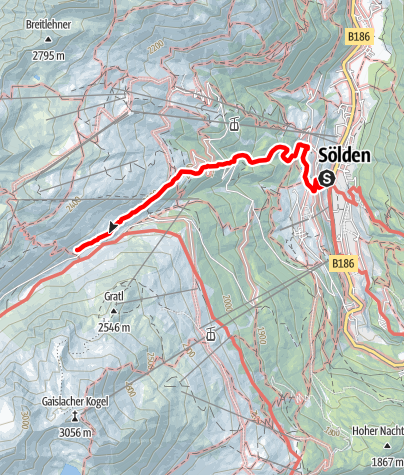 Map / Rettenbachalm