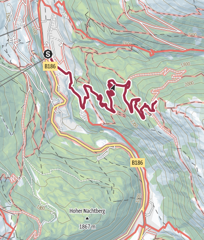 Map / Stabele - Brunnenbergalm