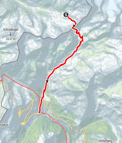 Map / Ötztal Trek Stage 08