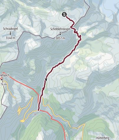 Map / Ötztal Trek Stage 08