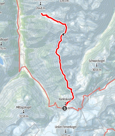Map / Ötztal Trek Stage 18