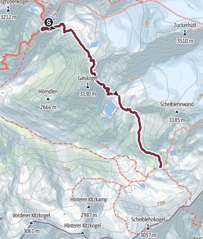 Map / Ötztal Trek Stage 07
