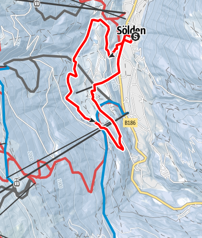 Map / Panoramaway -  Sölden