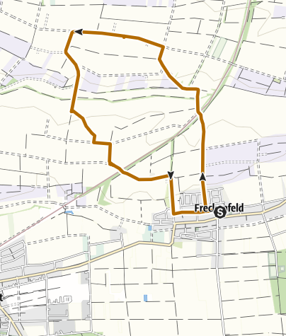 Karte / Freckenfeld - Nordic Walking Tour 3 - Rundtour