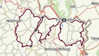 Karte / Mullerthal Trail