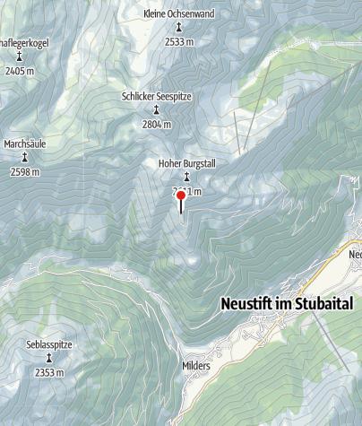 Karte / Starkenburger Hütte
