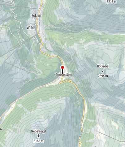 Karte / Talhütte Zwieselstein