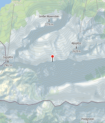 Karte / Höllentalgrathütte