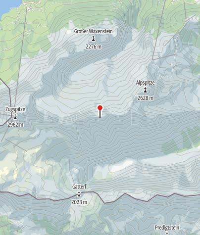 Map / Höllentalgrathütte