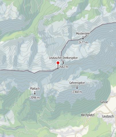 Karte / Schüsselkar-Biwak