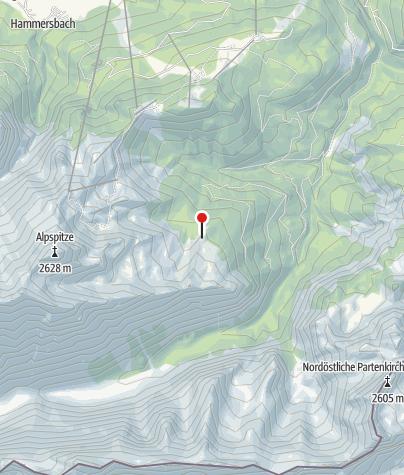 Karte / Stuibenhütte