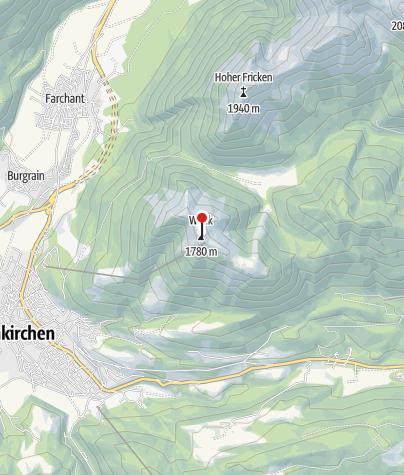 Karte / Wankhaus