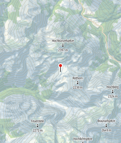 Map / Biberacher Hütte