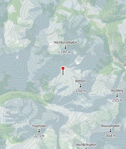 Karte / Biberacher Hütte