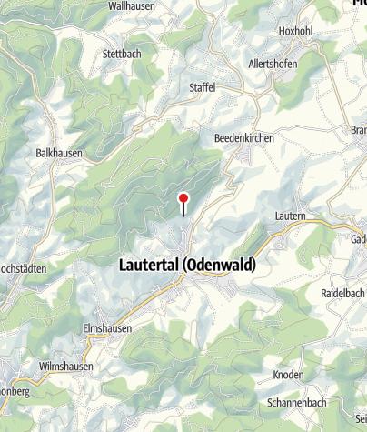 Karte / Felsberghütte