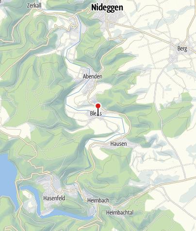 Karte / Kölner Eifelhütte