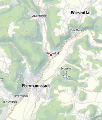 Karte / Mittelfrankenhütte