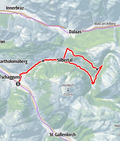 Karte / Bergknappen Tour Kristberg (E-Bike)