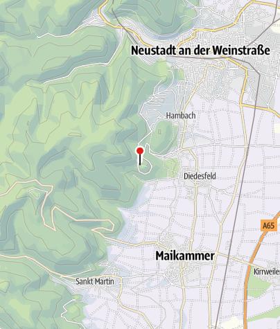 Karte / Burgschänke Rittersberg