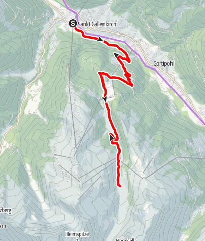 Karte / Alp Nova Tour (E-Bike)