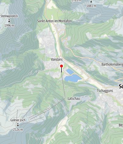 Karte / T4: Golmerbahn, Vandans