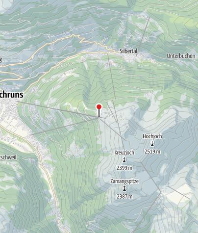 Karte / L7: Kapellrestaurant, Bergstation Hochjoch Bahn, Schruns