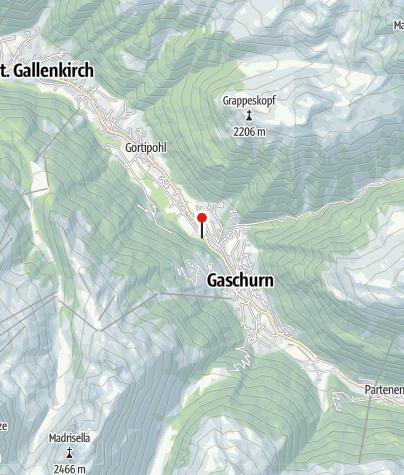 Karte / L11: Freizeitpark Mountainbeach, Gaschurn