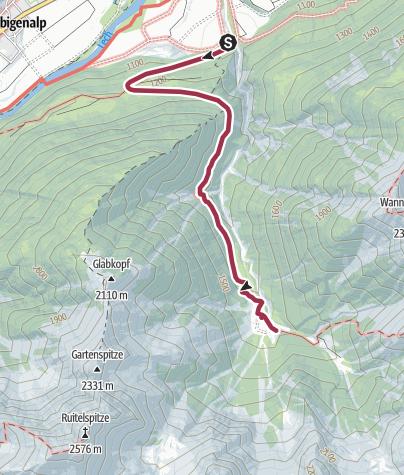 Karte / Grießbachalm