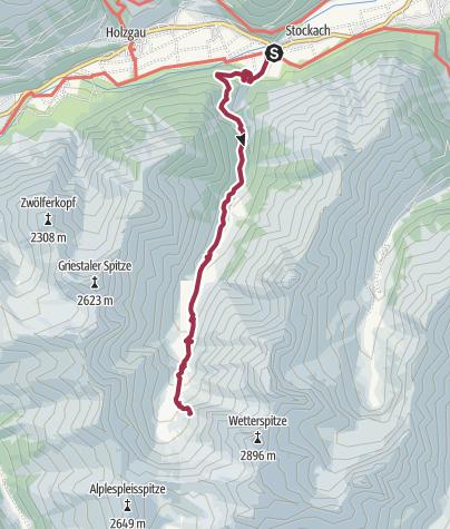 Karte / Simmshütte