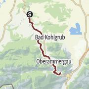 Karte / Fernwanderung - Via Romea