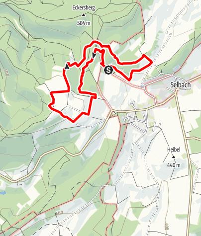Map / Nahequelle-Pfad
