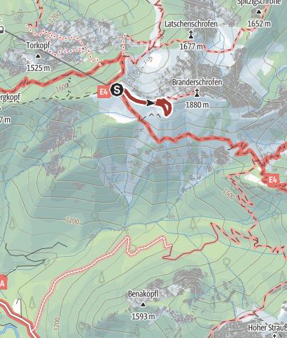 Map / Königsrunde am Tegelberg