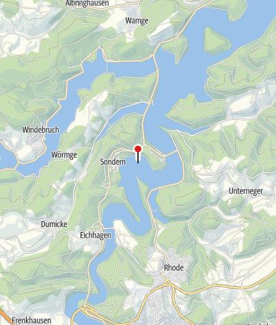 Karte / Biggesee