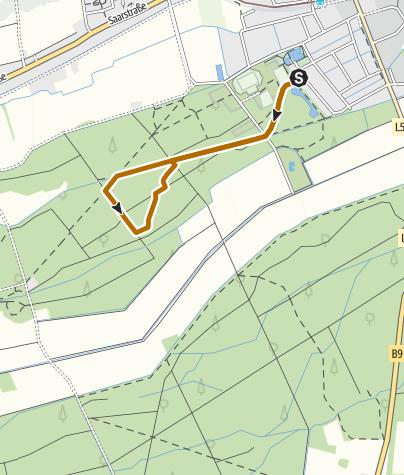 Karte / Kandel - Nordic Walking Tour 5 - Rundtour