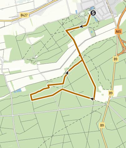 Karte / Kandel - Nordic Walking Tour 7 - Rundtour