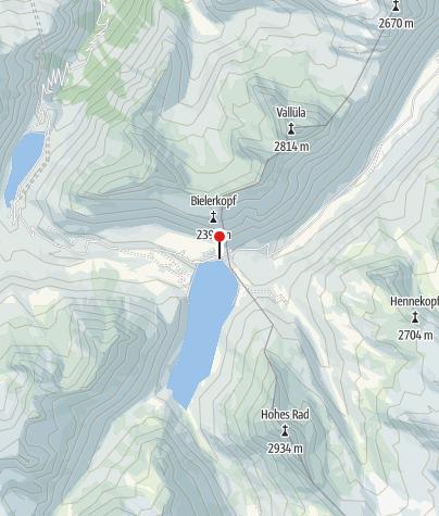 Karte / Silvretta-Bielerhöhe