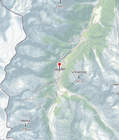 Karte / Gargellen
