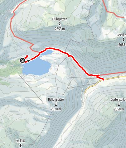Karte / A12: Wasserweg ins Paznaun