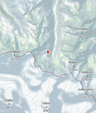 Karte / Zollwachhütte