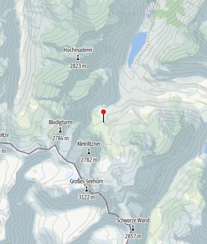 Karte / Zollwachhütte 2