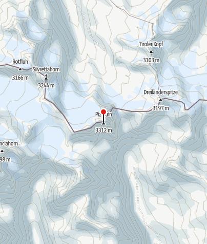 Karte / Piz Buin (3.312 m)