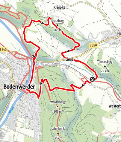 Karte / Zweitürmetour (Bw 2)