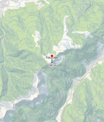 Karte / Panoramatafel Frauenalpe