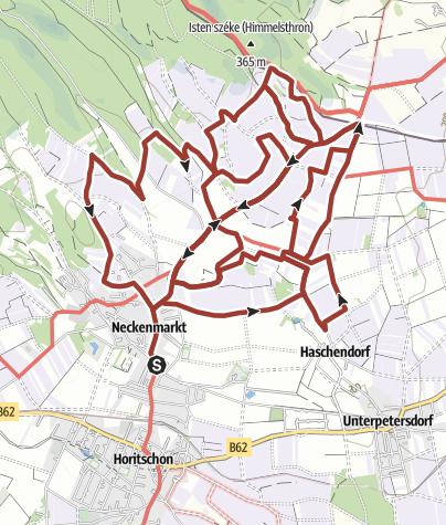 Karte / WeinSteinWeg