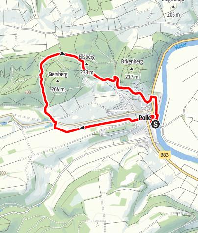 Karte / Durchs Habichtstal (Po 2)